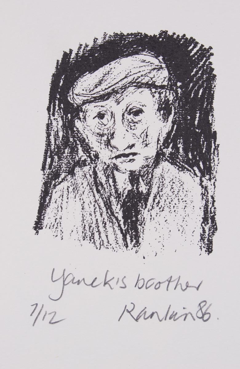 David Rankin 'Yanek's brother' - Lithograph on Paper