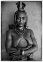 Christopher Rimmer 'Himba Woman - Kunene Namibia' - C type photograph