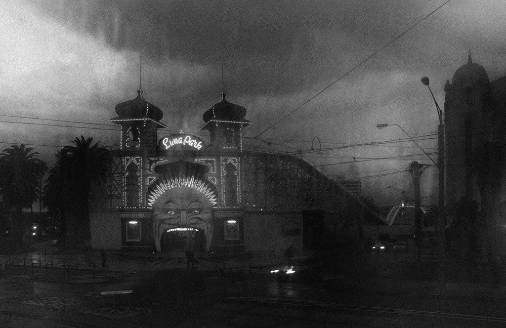 Christopher Rimmer 'Luna Park' - Archival pigment print on paper