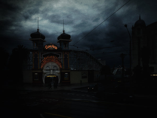 Christopher Rimmer 'Luna Park 15' - pigment print on paper