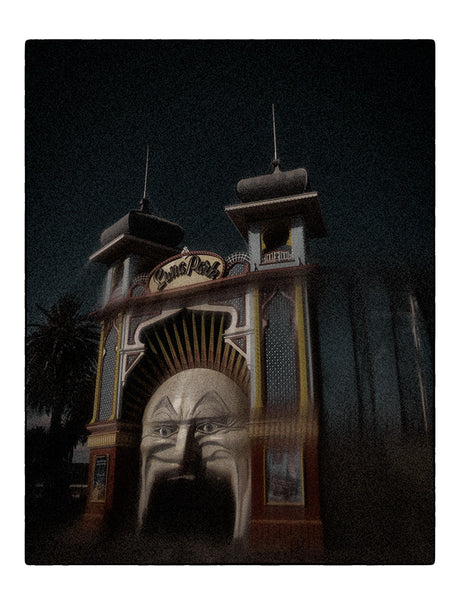 Christopher Rimmer 'Luna Park 5' - pigment print on paper