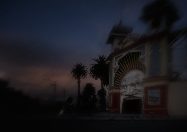 Christopher Rimmer 'Luna Park 8' - pigment print on paper