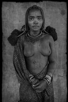 Christopher Rimmer ''Himba Maiden with Scarification - Namibia', 2011' - Original digital print