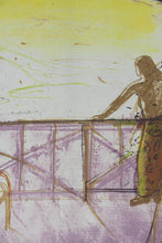 Load image into Gallery viewer, Brian Seidel 'Evening Balcony' - Lithograph on paper