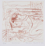 Brian Seidel 'Repose' - Etching on paper