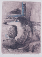 Brian Seidel 'The Mirror II' - Lithograph on paper