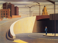 Jeffrey Smart 'Cahill Expressway' - Reproduction print on paper