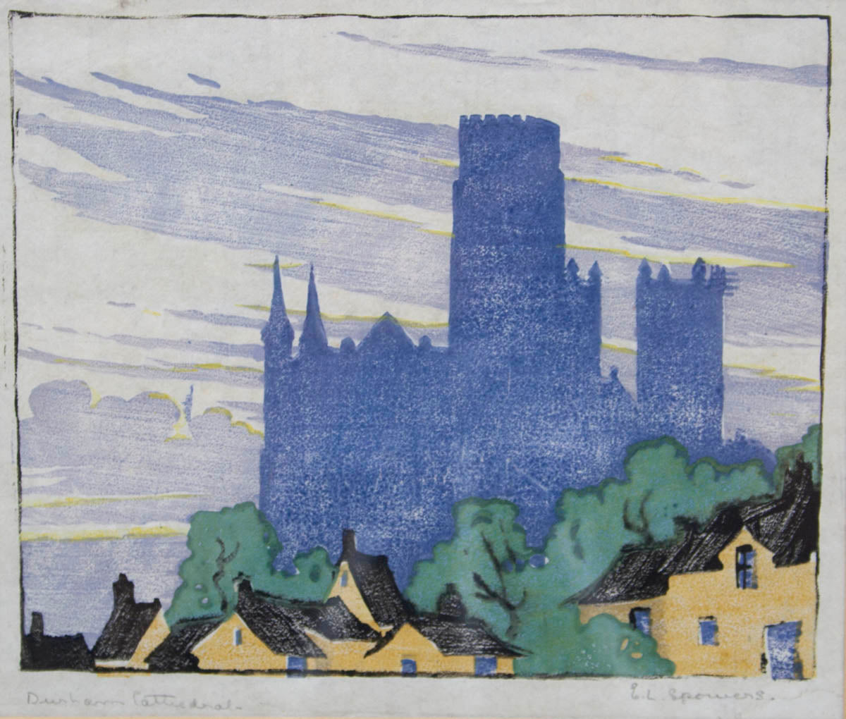 Ethel Spowers 'Durham Cathedral'