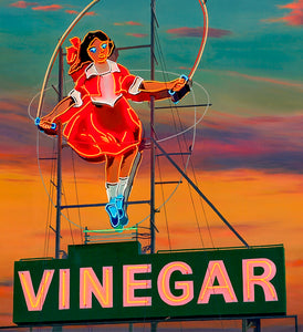 Jim Thalassoudis 'The Skipping Girl, Little Audrey' - limited edition fine art print