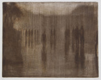 Louise Tomlinson 'The Strand - Dusk ' - etching on paper