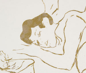 Henri Toulouse Lautrec 'Ta Bouche (Your Mouth)' - lithograph on paper