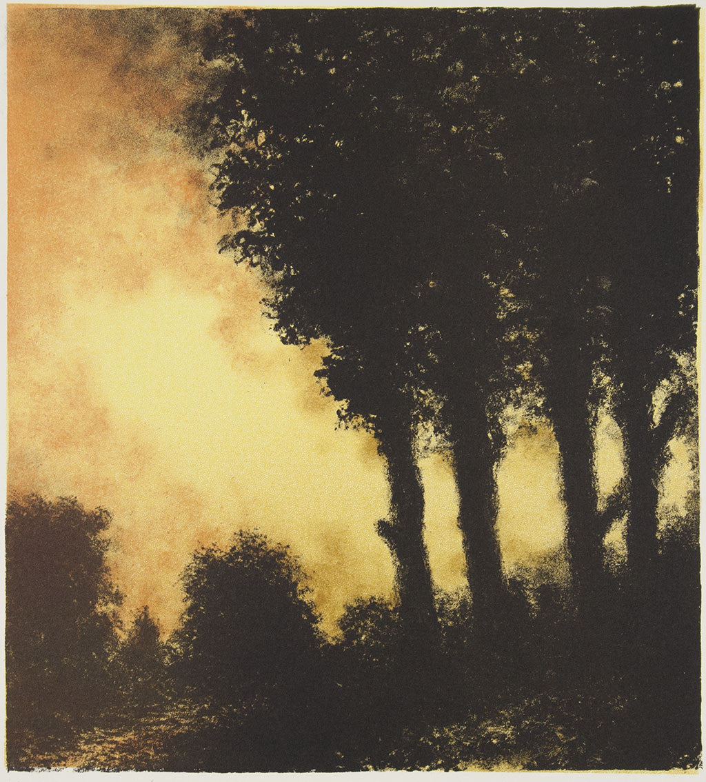 Wayne Viney 'Close of Day' - lithograph on paper