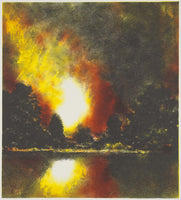 Wayne Viney 'Light Point' - lithograph on paper
