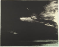 Wayne Viney 'Storm Over the Bay ' - lithograph on paper