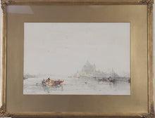 Load image into Gallery viewer, Frank Wasley 'Venetian Scene' - watercolour on paper