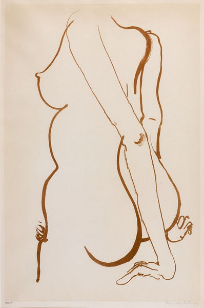 Brett Whiteley 'Back 2'