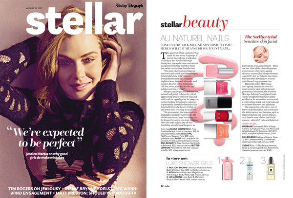 Paint Nail Lacquer nail polish as seen in Stellar Magazine