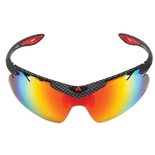 Aspex Cosmos Red Revo Sunglasses