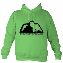 Load image into Gallery viewer, The Cairngorms Are Calling/ Badger Hoodie