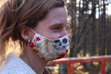 Load image into Gallery viewer, MacLeod Tartan - Locally Hand-made Facemask