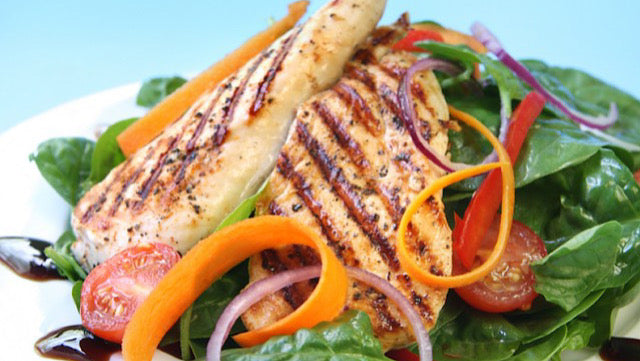 Replace carbs and sugar with healthy tasty fats and green leafy vegetables