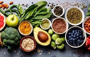 leafy greens, berries, nuts and seeds are great for Keto