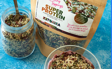 super protein topping mix high in protein