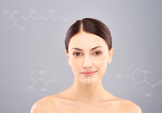 collagen peptides help the keep your skin youthful and fight the anti-ageing process