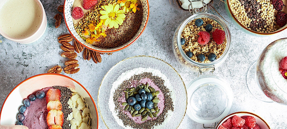 smoothie bowls make a healthy breakfast