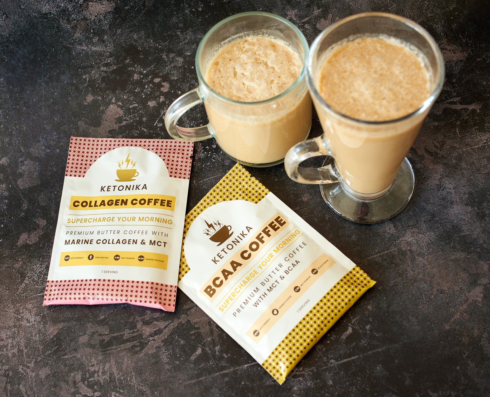 Ketonika Collagen butter coffee is great for healthy keto diets