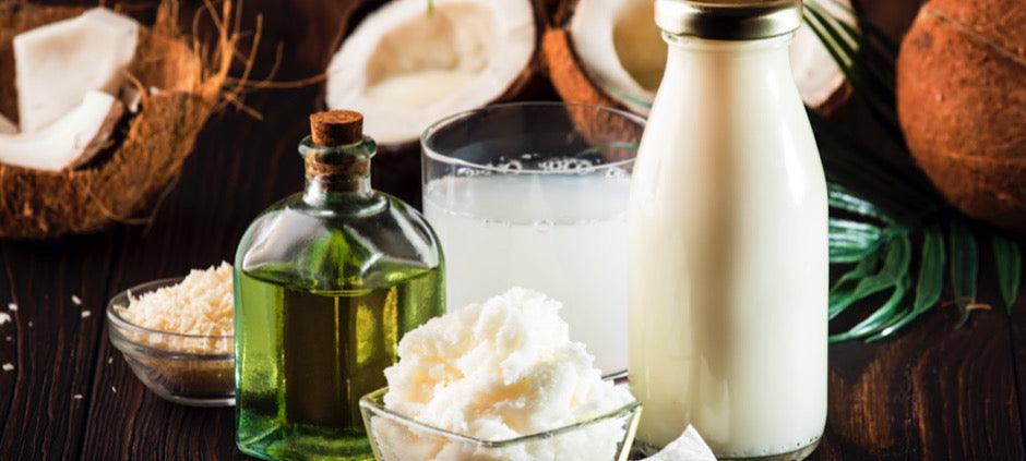 MCT's from coconut oil have many health benefits