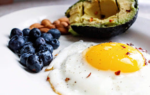 eggs and avocado are the staple of a keto diet