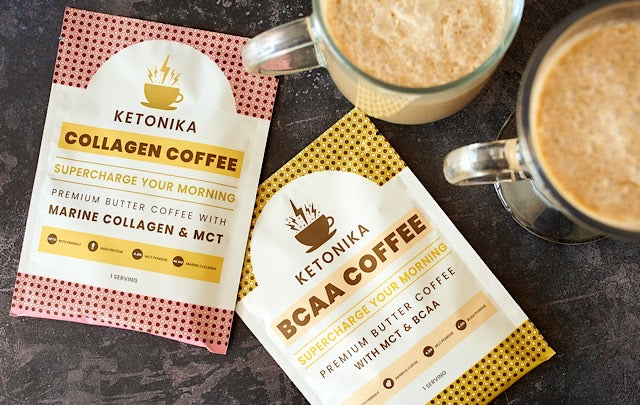 Ketonika butter coffee with added MCTs is great for healthy keto diets