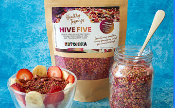 Ketonika Healthy toppings are packed with vitamins and minerals to boost the effects of collagen