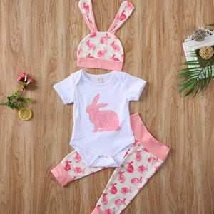 Baby Girl Boy Kurzarm Outfits Set