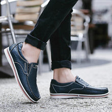 Lade das Bild in den Galerie-Viewer, Cruiser max echtes Leder casual Oxfords