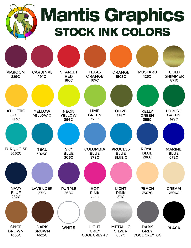 Mantis Graphics Stock Ink Colors