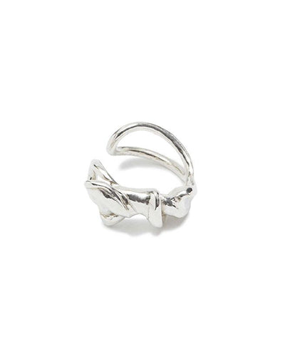 Twisted Eco sterling silver ear-cuff| All Its Forms