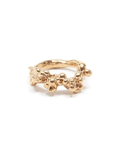 Bobble gold vermeil ring | All Its Forms