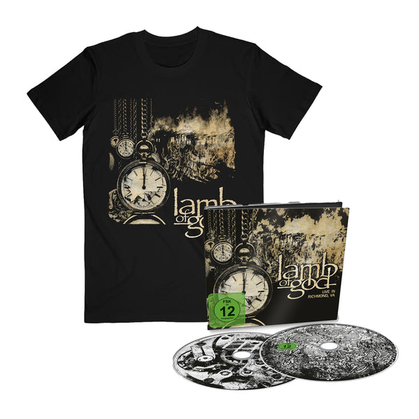 Live in Richmond, VA Tee & CD/DVD Bundle