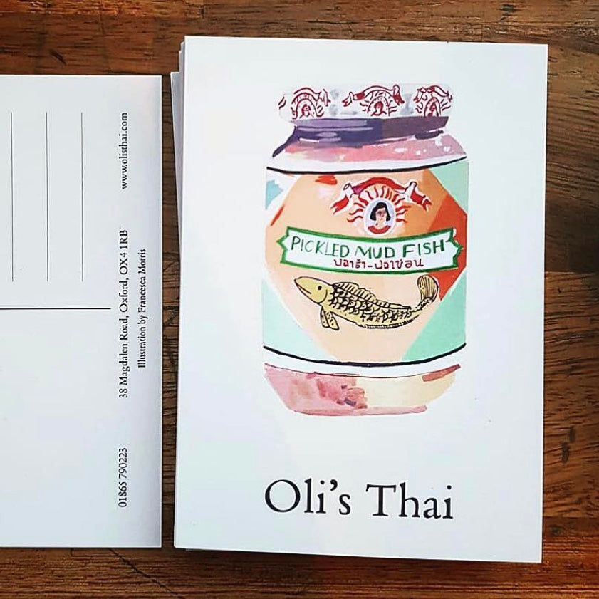 Oli's Postcards