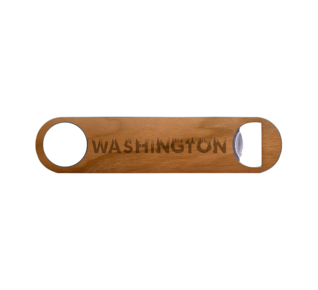 WA Grown Wood Bottle Opener