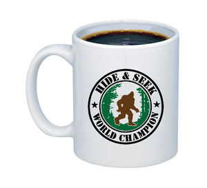 Hide and Seek World Champion Mug