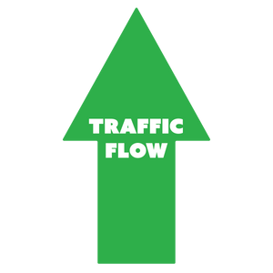 Traffic Flow Arrow - Floor Graphics