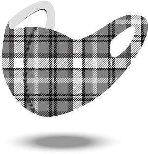 Plaid Reusable Soft Style Mask