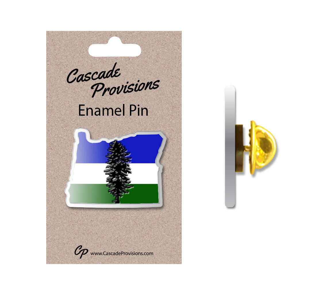 OR Cascadia Enamel Pin