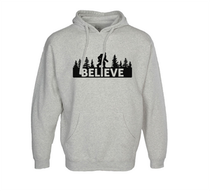 Believe in Bigfoot Hoodie