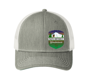 PNW Hiker Badge Hat