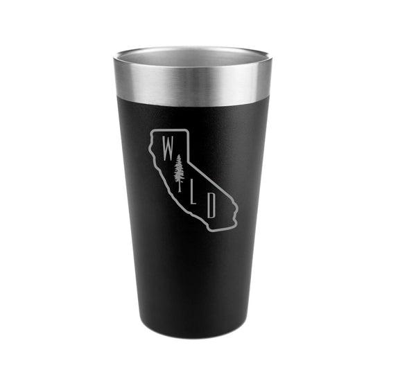California Wild Stainless Steel Insulated Pint