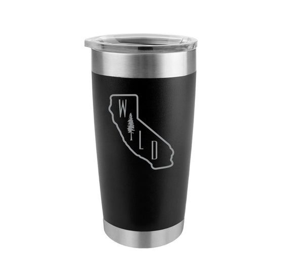 California Wild Stainless Steel Insulated Tumbler